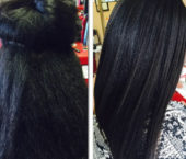 Brazilian Keratin Gives You a More Natural Look