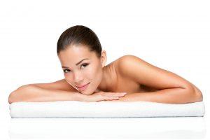 Spa beauty skin treatment woman